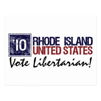 Vote Libertarian in 2010 – Vintage Rhode Island Postcards