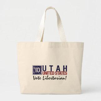 Vote Libertarian in 2010 – Vintage Utah Tote Bag