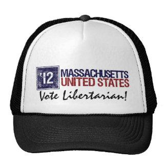 Vote Libertarian in 2012 – Vintage Massachusetts Trucker Hat