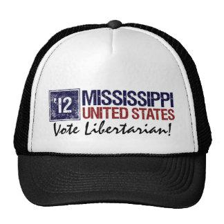 Vote Libertarian in 2012 – Vintage Mississippi Trucker Hat