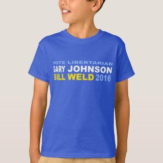 Vote Libertarian Johnson-Weld 2016 T-Shirt