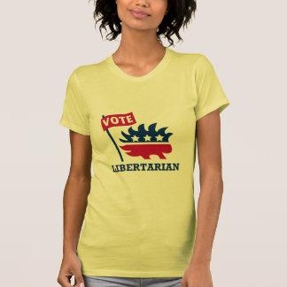 VOTE LIBERTARIAN - liberty/freedom/ron paul T-shirt