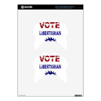 Vote Libertarian Xbox 360 Controller Skin