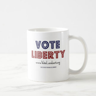 Vote LIBERTY Mug! Classic White Coffee Mug