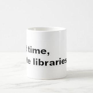 Vote libraries mug
