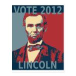 Vote Lincoln 2012 Postcards