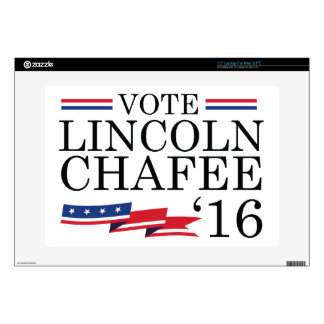 Vote Lincoln Chafee 2016 Decals For Laptops