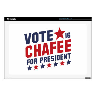 Vote Lincoln Chafee Laptop Skins