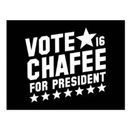 Vote Lincoln Chafee Postcard