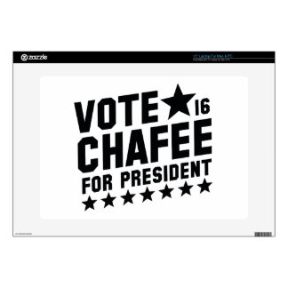 Vote Lincoln Chafee Skin For Laptop