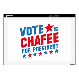 "Vote Lincoln Chafee Skins For 17"" Laptops"