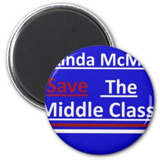 Vote Linda McMahon 2012 Senate Race 2 Inch Round Magnet