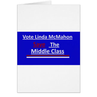 Vote Linda McMahon 2012 Senate Race Card