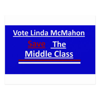 Vote Linda McMahon 2012 Senate Race Postcard