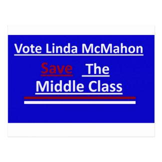 Vote Linda McMahon Postcard