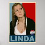 Vote Linda! Poster