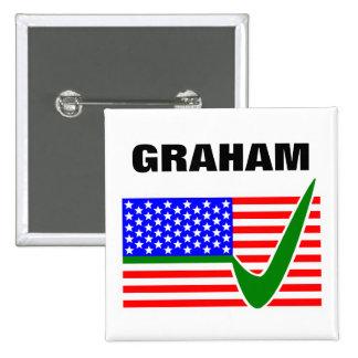 Vote Lindsey Graham for President 2016 Pinback Button