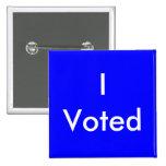 Voté los botones pin