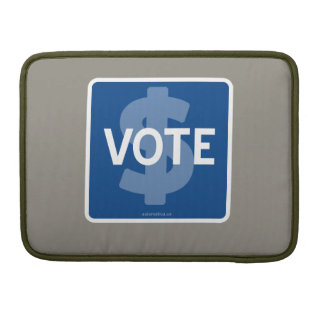 $ VOTE MacBook PRO SLEEVE
