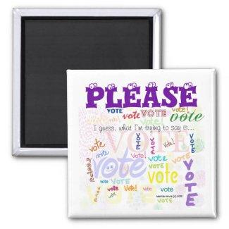 Vote! Magnet (Customize)