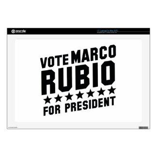 "Vote Marco Rubio 17"" Laptop Decal"