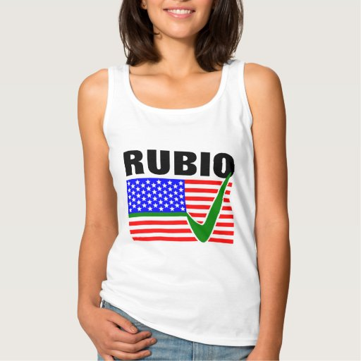 Vote Marco Rubio for President 2016 Basic Tank Top Tank Tops, Tanktops Shirts