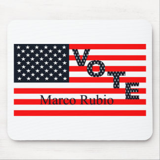 Vote Marco Rubio for President 2016 Mouse Pad