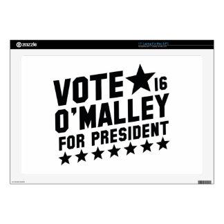 Vote Martin O'Malley Laptop Skins