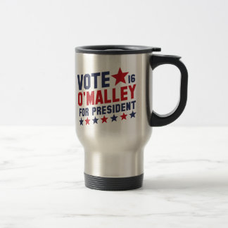 Vote Martin O'Malley Travel Mug