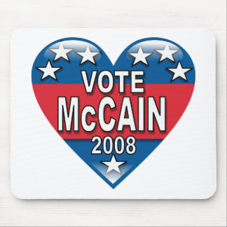 Vote McCain 2008 Mouse Pad