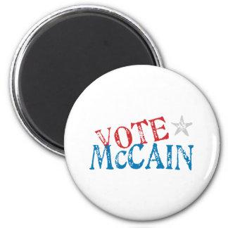 Vote McCain 2 Inch Round Magnet
