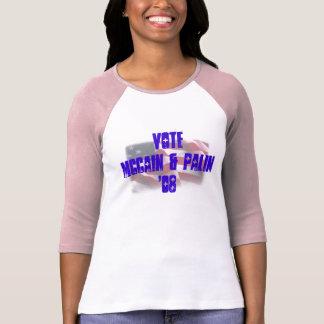 VOTE McCain & Palin Tee Shirt