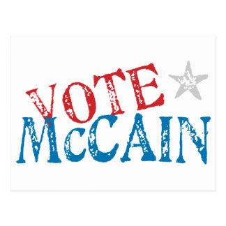 Vote McCain Postcard