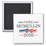 Vote McMullin 2016 2 Inch Square Magnet