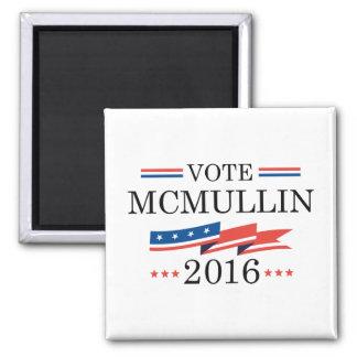 Vote McMullin 2016 2 Inch Square Magnet
