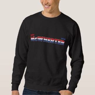 Vote McWherter 2010 Elections Red White and Blue Sweatshirt