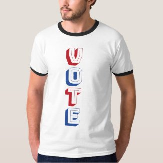 Vote! Men's Ringer Tee
