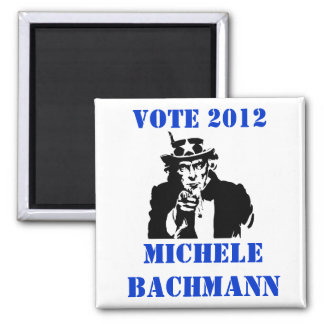 VOTE MICHELE BACHMANN 2012 FRIDGE MAGNET