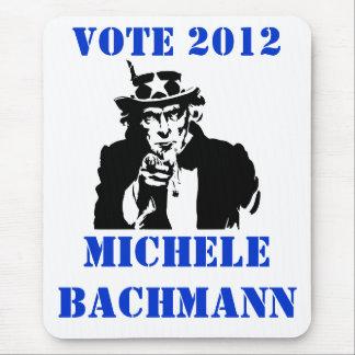VOTE MICHELE BACHMANN 2012 MOUSE PAD