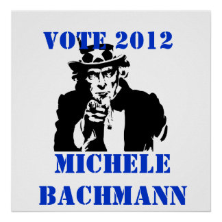 VOTE MICHELE BACHMANN 2012 POSTER