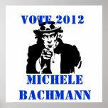 VOTE MICHELE BACHMANN 2012 POSTERS