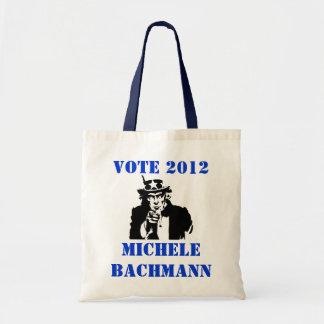 VOTE MICHELE BACHMANN 2012 TOTE BAG