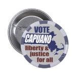 Vote Mike Capuano Button
