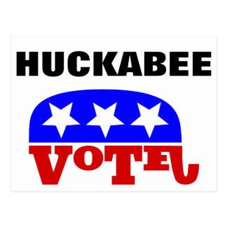 Vote Mike Huckabee Republican Elephant Postcard