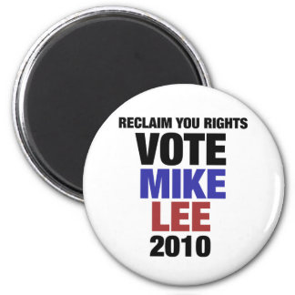 Vote Mike Lee 2010 2 Inch Round Magnet