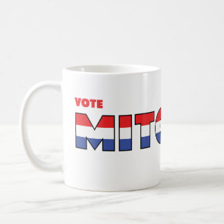 Vote Mitchell 2010 Elections Red White and Blue Coffee Mug