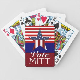 Vote Mitt - Playing Cards - SRF