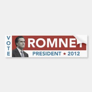 Vote Mitt Romey Ryan Vintage Bumper Sticker