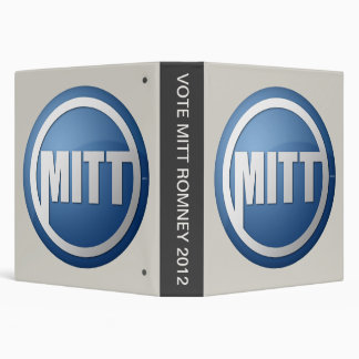 VOTE MITT ROMNEY 2012 BINDER