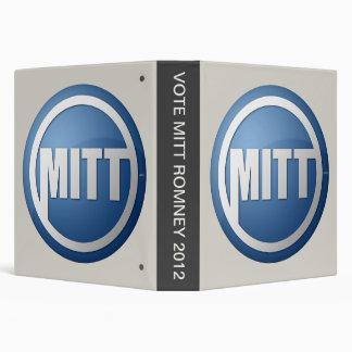 VOTE MITT ROMNEY 2012 BINDER